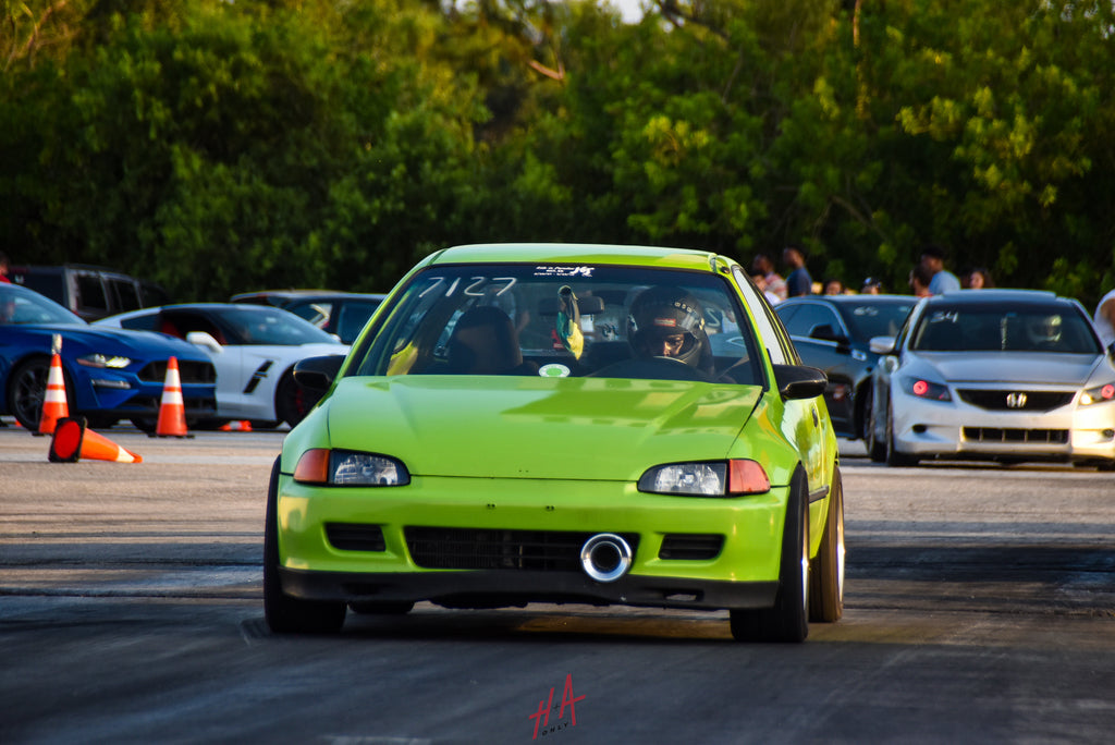 H+A Only | Street Racing Made Safe Roll Racing Honda Civic EG Hatchback K Series K20 K-Swap