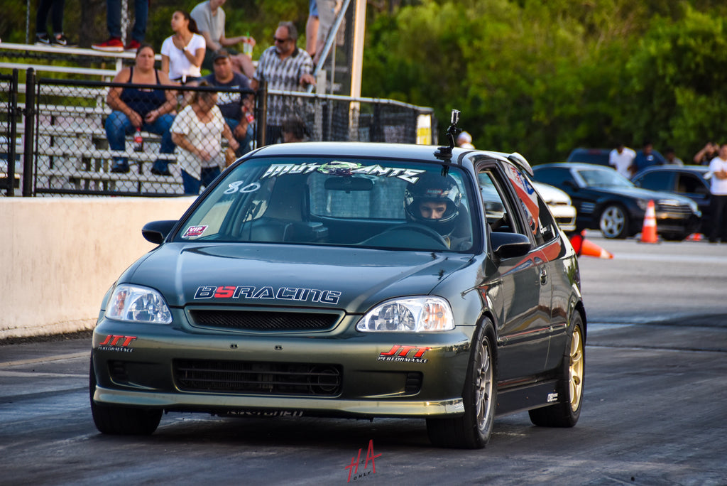 H+A Only | Street Racing Made Safe Roll Racing Honda Civic EK Hatchback K Series K20 K-Swap