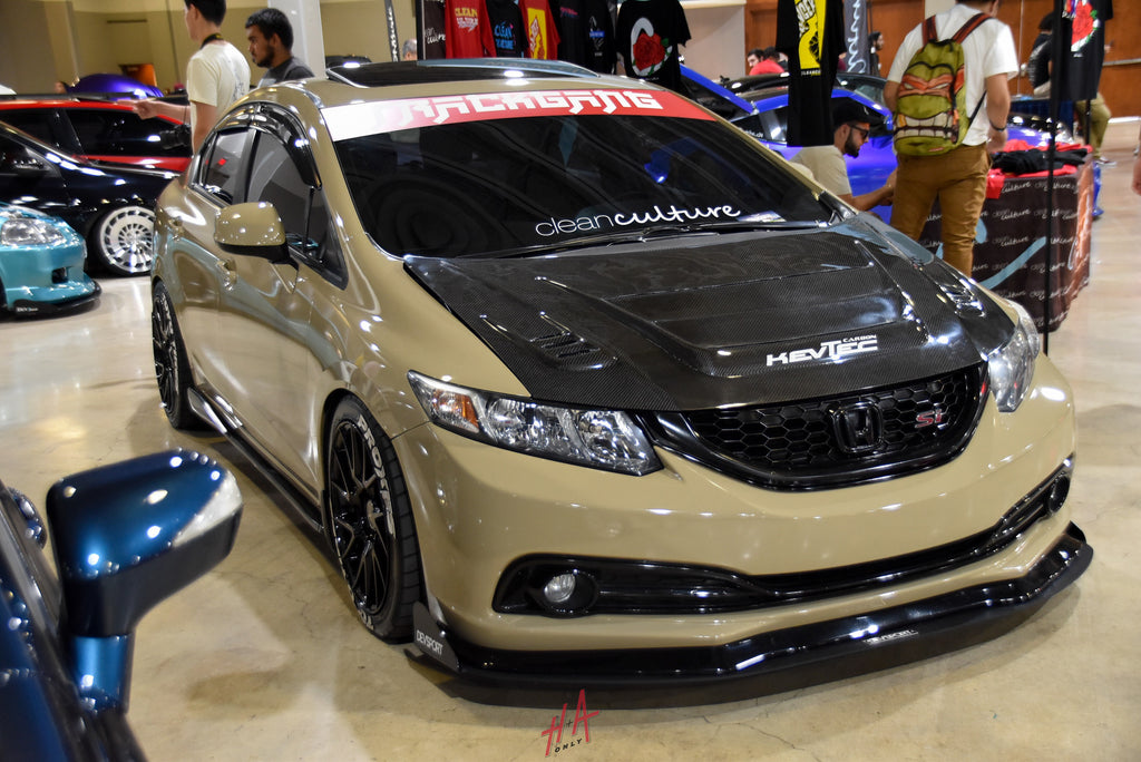 H+A Only | Low n Clean Car Show Honda Civic Si FA5 Sedan K20