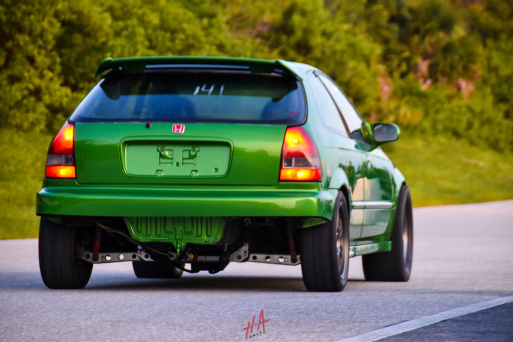 H+A Only | Street Racing Made Safe Roll Racing Honda Civic EK Turbo Hatchback