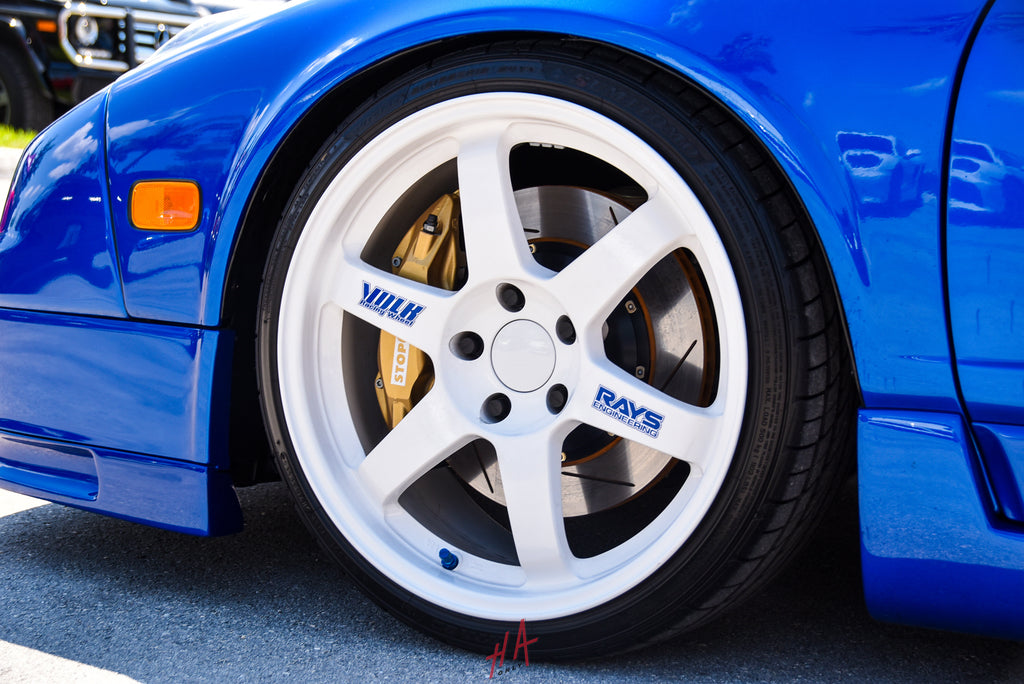 H+A Only | Supercar Saturdays Acura NSX NA2 Volk TE37 Wheels