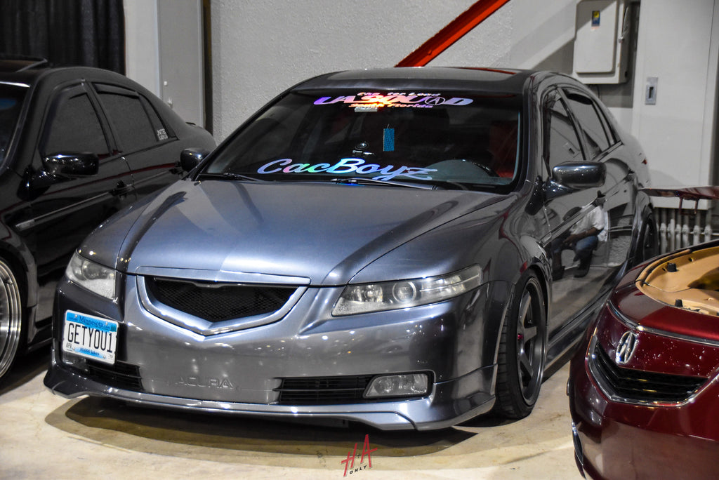 H+A Only | Low n Clean Car Show Acura TSX Lowered