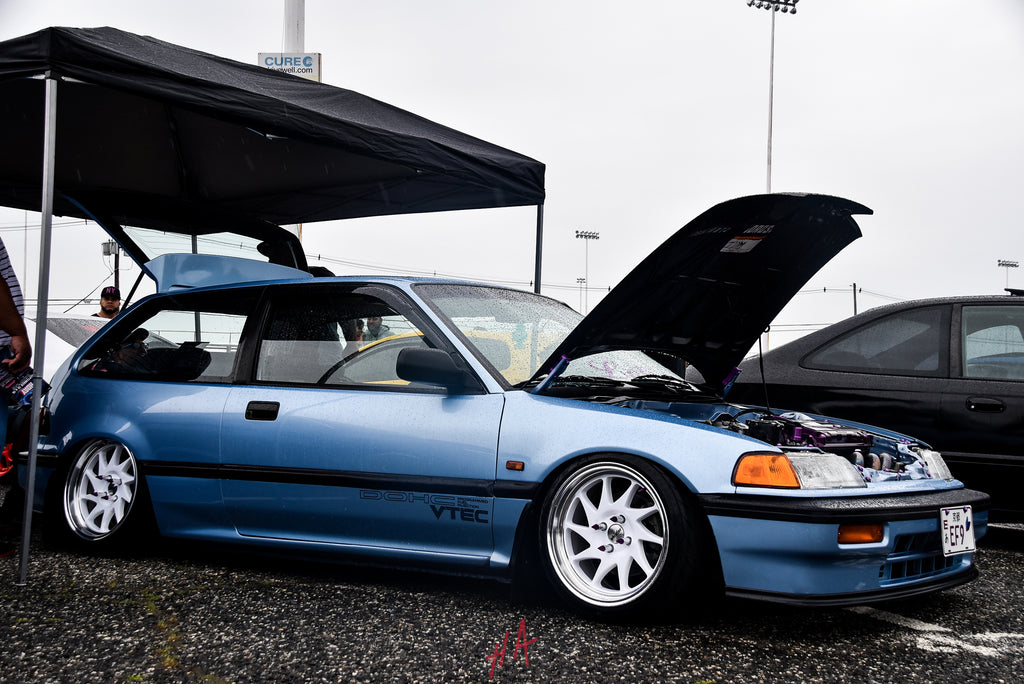 H+A Only | Honda Acura Mega Meet Honda Civic EF Hatchback B Series B16