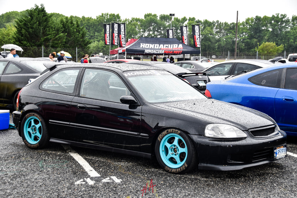 H+A Only | Honda Acura Mega Meet Honda Civic EK Hatchback