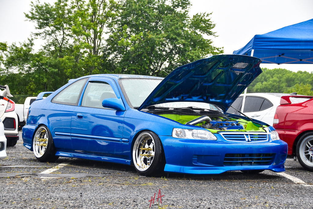 H+A Only | Honda Acura Mega Meet Honda Civic Coupe EJ6 D16