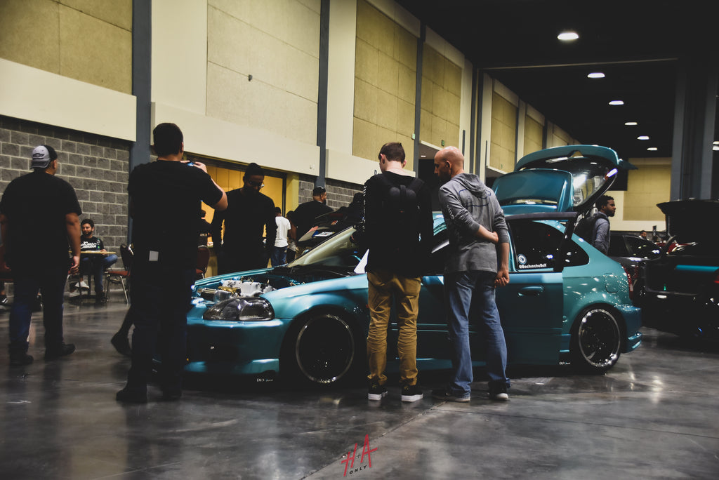 H+A Only | Stance Nation Honda Civic EK Hatchback K-Series K20 Right Hand Drive