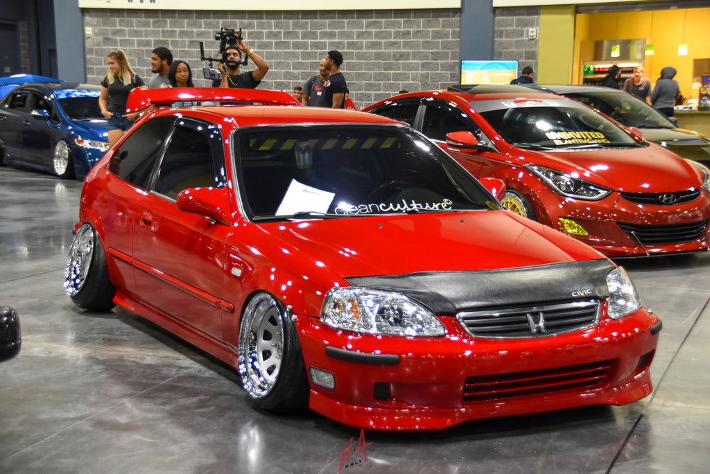 H+A Only | Stance Nation Honda Civic EK Hatchback Lowered