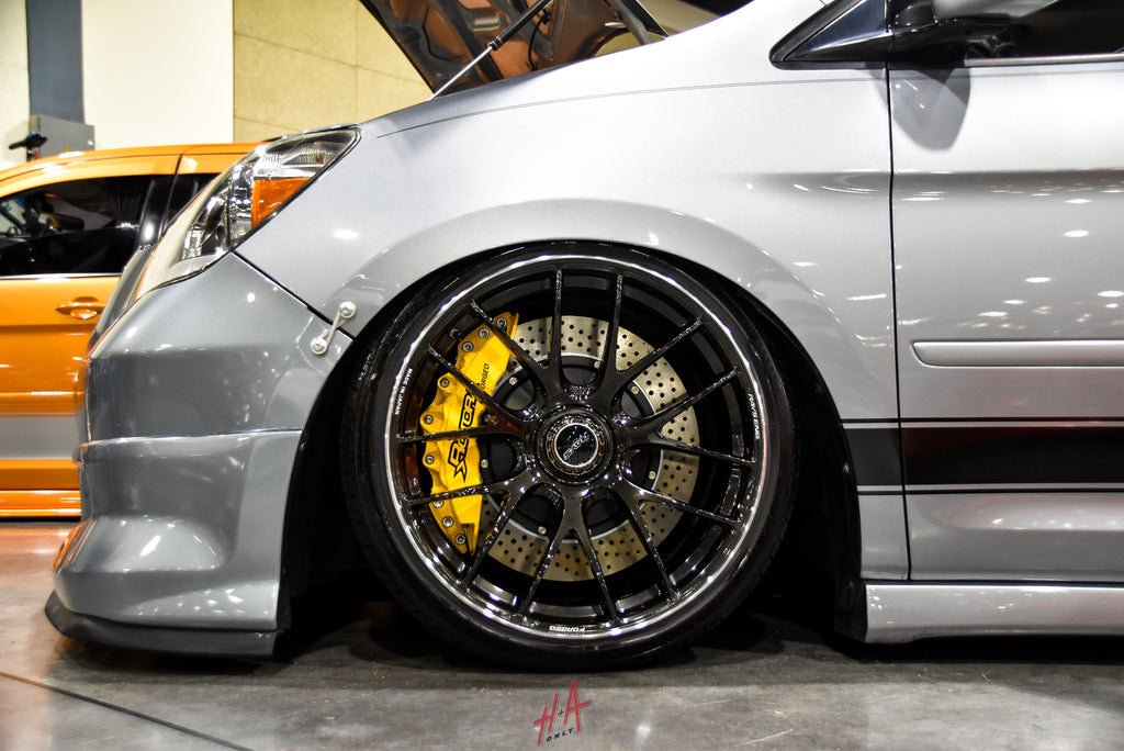 H+A Only | Stance Nation Honda Odyssey Van Lowered