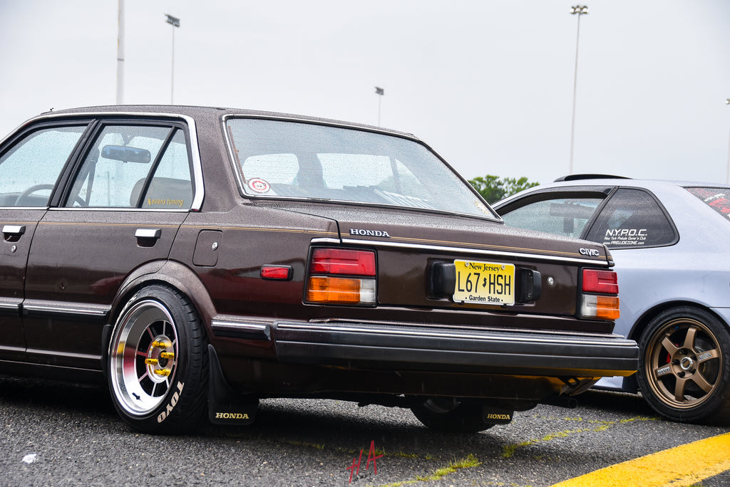 H+A Only | Honda Acura Mega Meet Honda Civic Sedan Classic Vintage Antique Oldschool