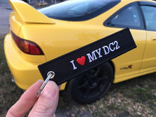 I Love My DC2 Honda Flight Tag Keychain