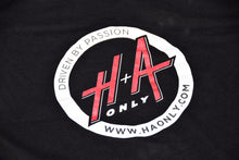 "Ladies H+A Only ""Driven by Passion"" T-Shirt Black"