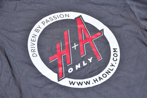 "Ladies H+A Only ""Driven by Passion"" T-Shirt Grey"