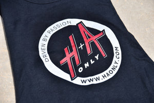 "Ladies H+A Only ""Driven by Passion"" Tank Top Black"