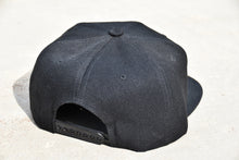 H+A Only Snap Back Adjustable Hat Black