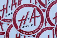 H+A Only Slap Sticker - Red