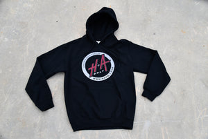 "H+A Only ""Driven by Passion"" Hoodie Sweater Black"