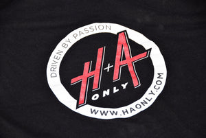"H+A Only ""Driven by Passion"" T-Shirt Black"