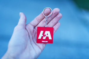 H+A Only Rubber Honda Acura Keychain