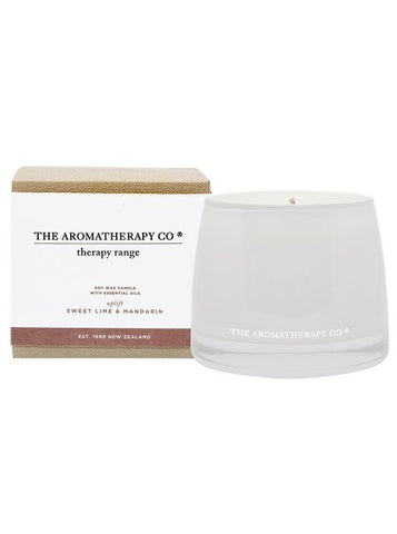 Therapy Uplift Sweet Lime & Mandarin Candle 260g