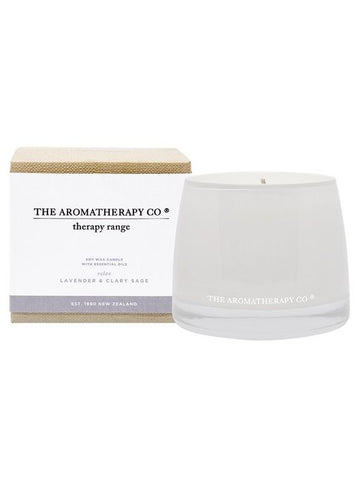 Therapy Relax Lavender & Clary Sage Candle 260g