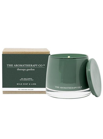 Garden Wild Mint & Lime Candle 260g