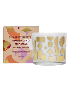 Sparking Mimosa Votive Candle 100g