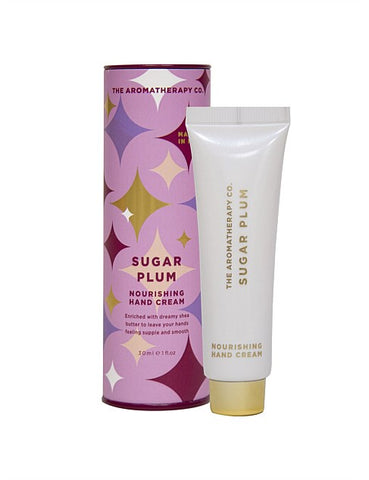 Festive Favours Sugar Plum Hand Cream 30ml