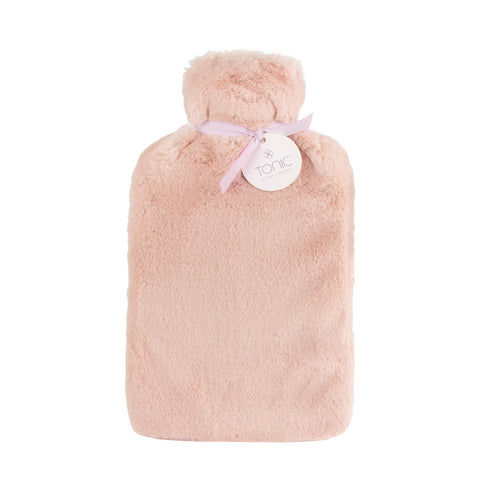 Hot Water Bottle Dusty Pink