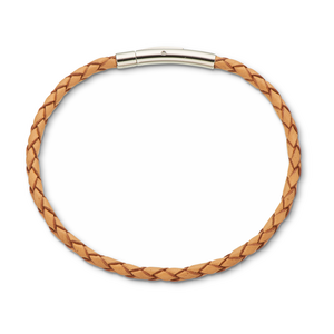 Fine Leather Bracelet Natural