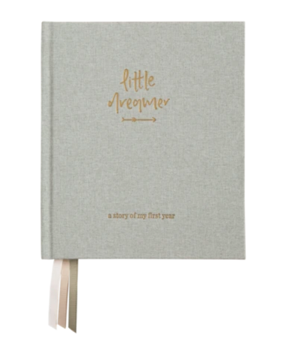 Little Dreamer Baby Journal Sage