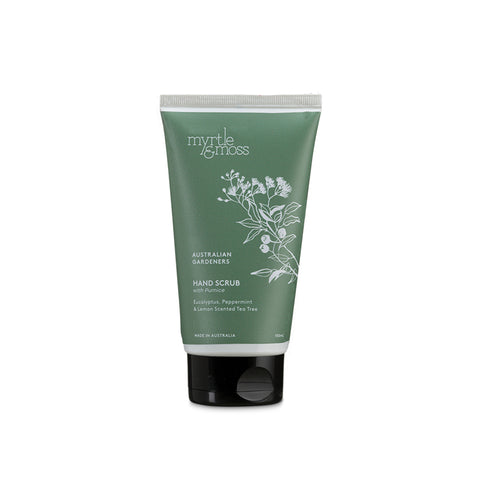 Gardners Range Eucalyptus, Peppermint & Lemon Scented Tea Tree Hand Scrub 150ml