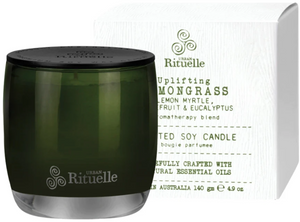 Lemongrass, Lemon Myrtle, Grapefruit & Eucalyptus Candle 140G