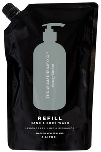 Refill Bag of Therapy Kitchen Lemongrass, Lime & Bergamot Wash 1L