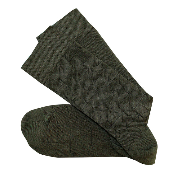 Theatre Olive Green Socks