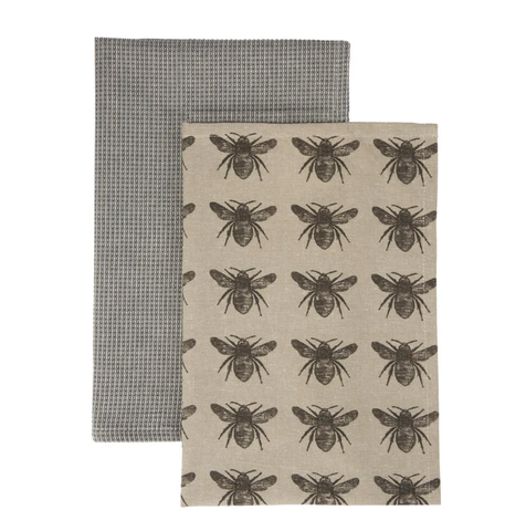 Bee Tea Towel Pack