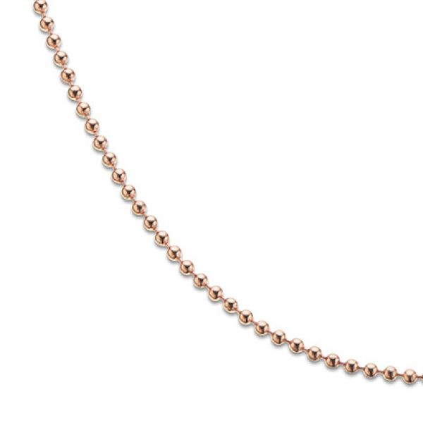 Rose Gold Plate Ball Chain
