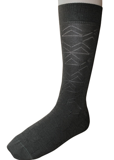 Theatre Charcoal Socks
