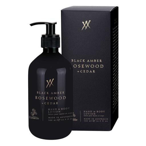 Alchemy Black Amber, Rosewood & Cedar Lotion 500ml