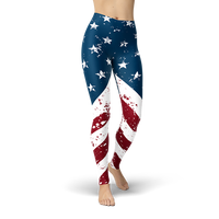 American Flag - Cranberry Fashion