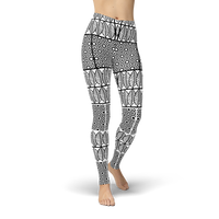 Bohemian BW Style Leggings - Cranberry Fashion