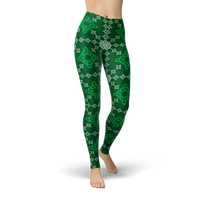 Celtic Irish Legging - Cranberry Fashion