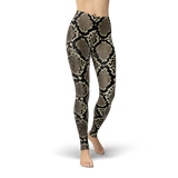 Rattle Snake Legging - Cranberry Fashion