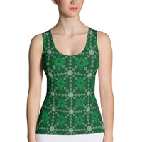 Celtic Irish Tank Top - Cranberry Fashion