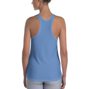 Queens born in June Bluish Racerback Tank Top - Cranberry Fashion