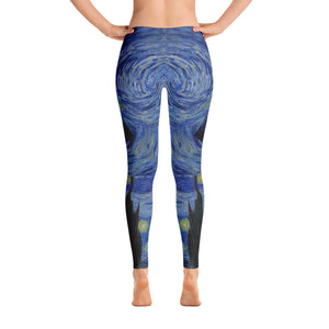 Tardis Leggings - Cranberry Fashion