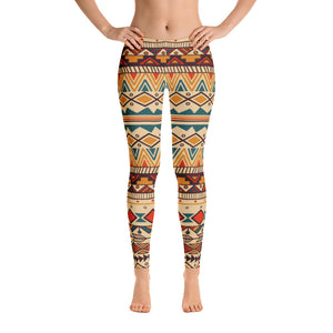 Bohemian Style 10 Leggings - Cranberry Fashion