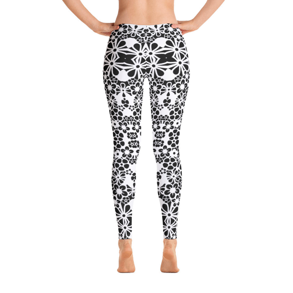 Bohemian BW Leggings - Cranberry Fashion