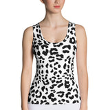 Leopard Tank Top - Cranberry Fashion