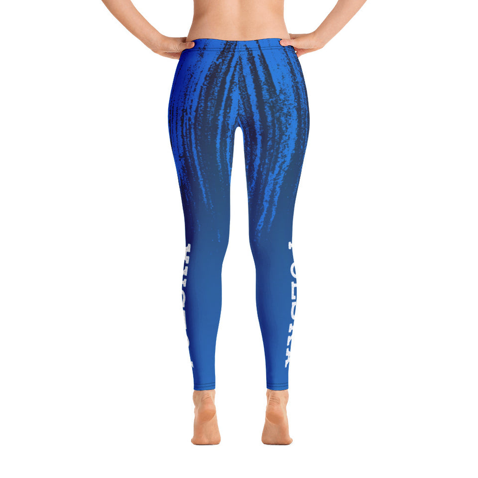 Blue Polska Leggings - Cranberry Fashion