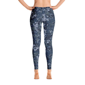 Digital Police Legging - Cranberry Fashion